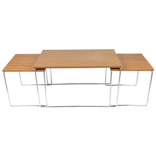Mid-Century Modern Nesting Tables - Set of 3