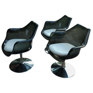 Mid-Century Modern Tulip Chairs - Set of 3