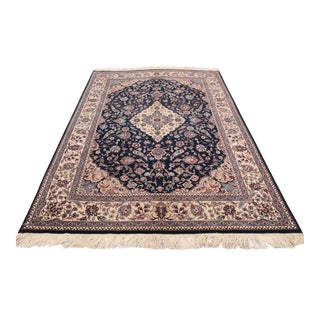 1960's Turkish Hand Knotted Rug - 6′2″ × 9′2″