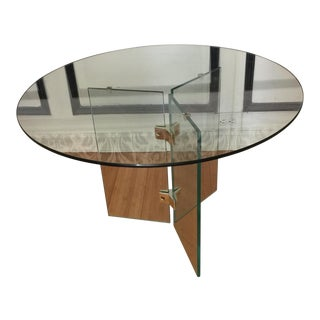 Pierre Cardin All Glass Cocktail Table