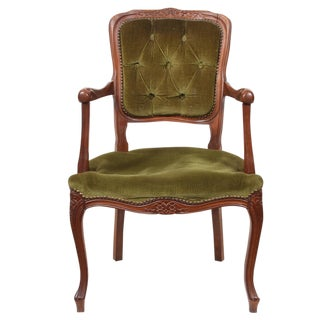 19th Century French Louis XV Style Armchair