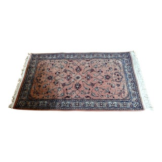 Hand Knotted Persian Rug - 3′2″ × 5′8″