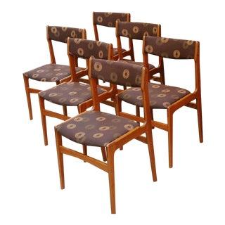Anderstrup Mobelfabrik Danish Modern Teak Dining Chairs - Set of 6