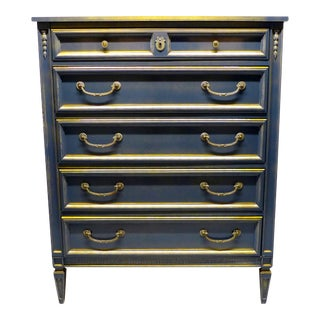 French Style Gray-Blue Painted Dresser