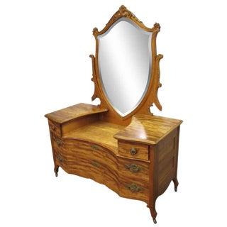 Maple Dresser Vanity