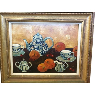 Coffee Break Still Life Painting