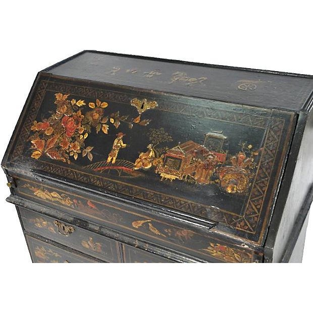 Antique 19th-C. English Chinoiserie Desk - Image 2 of 6