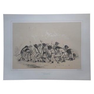 """""""The Buffalo Dance"""" Ltd. Ed. Serigraph"""