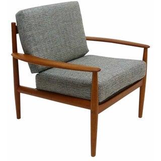 Danish Modern Grete Jalk Teak Lounge Chair