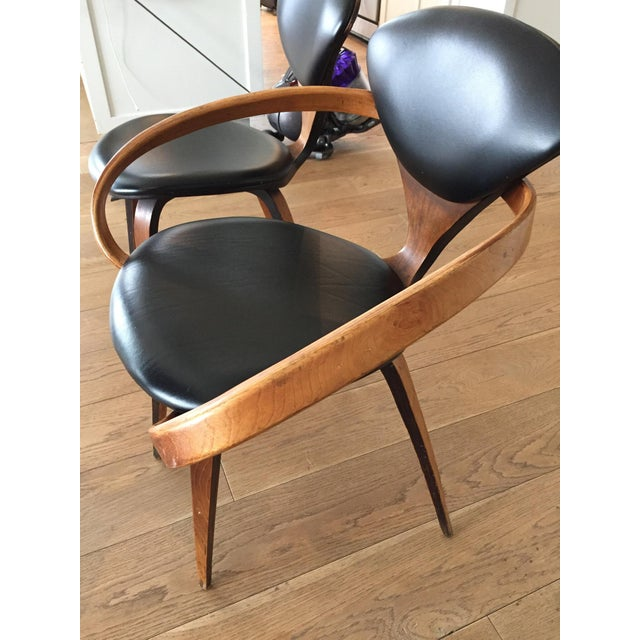 Norman Cherner Antique Chairs - Set of 4 - Image 4 of 11