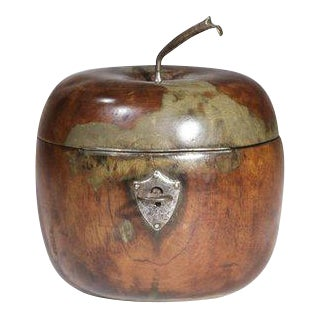 George III Apple-form Tea Caddy