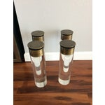 Image of 1970s Pace Collection Lucite Legs - Set of 4