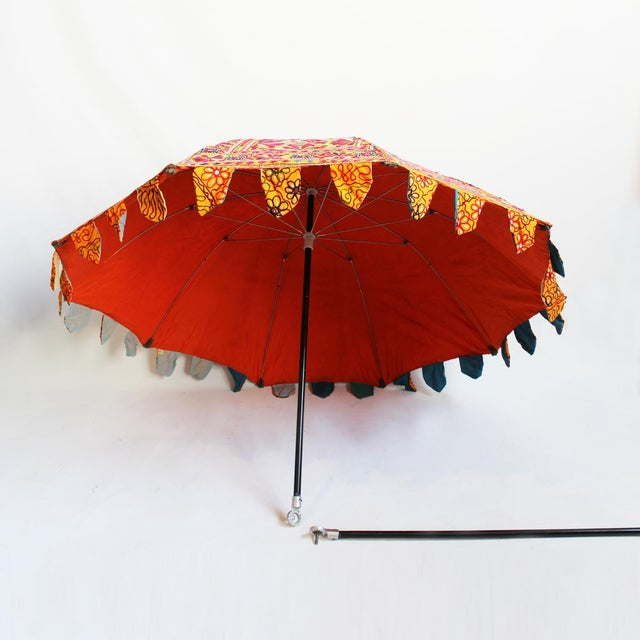 Embroidery & Mirror Work Umbrella - Image 2 of 5