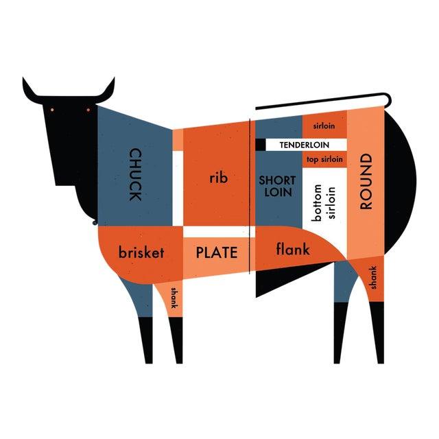 Raymond Biesinger 2011 Beef Cut Poster - Image 1 of 6