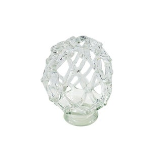 Decorative Crystal Orb Shaped Floral Frog