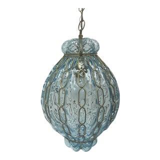 Aqua Murano Lantern Pendant Light