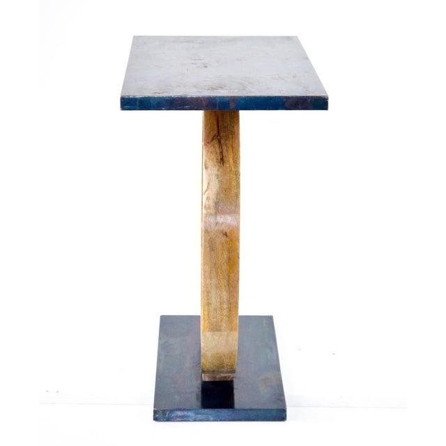 Image of Wood Ring Base Side Table
