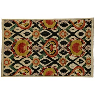 Transitional Ogival Pattern Rug - 6' x 9'3