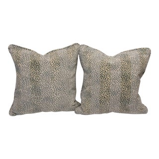 Colefax & Fowler Fabric Pillows - a Pair