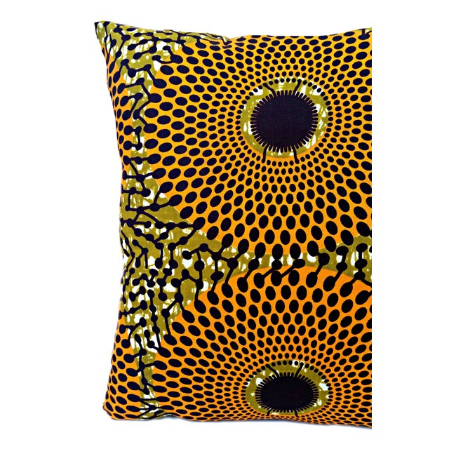 Summer Harvest African Wax Print Pillows- Pair - Image 5 of 5