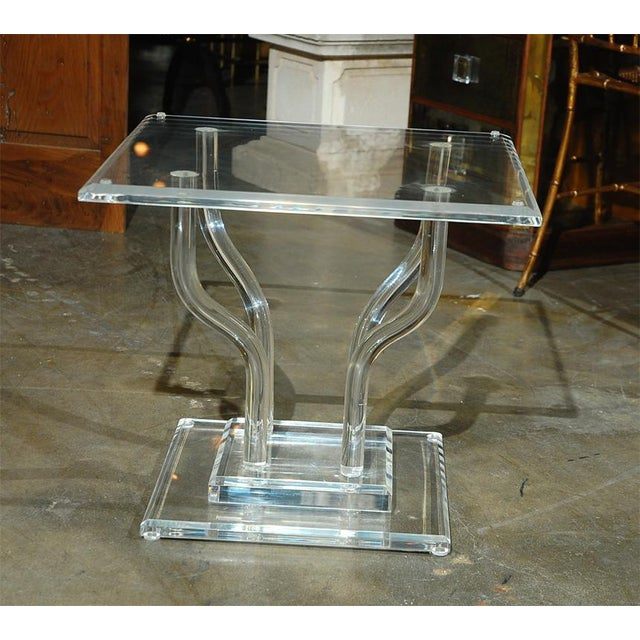 Image of Lucite Occasional Table