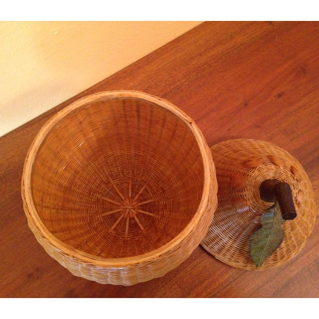 Image of Vintage Chinese Pear Basket
