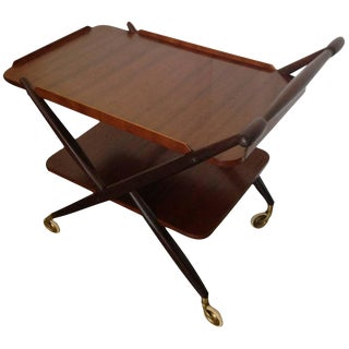 Swedish Mid-Century Bar/Tea Cart