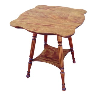 Victorian 2 Tier Side Table