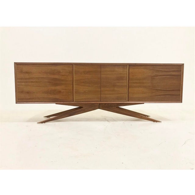 Brass Accent Credenza - Image 2 of 6