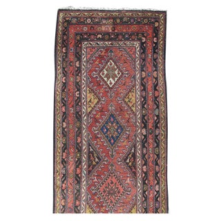 Colorful Hamadan Runner Rug