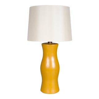 Du Table Lamp - Ochre Lacquer