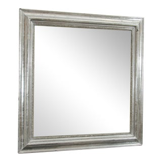 Square Silvered Mirror
