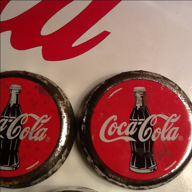 Vintage Coca Cola Cap Tin - Image 7 of 10