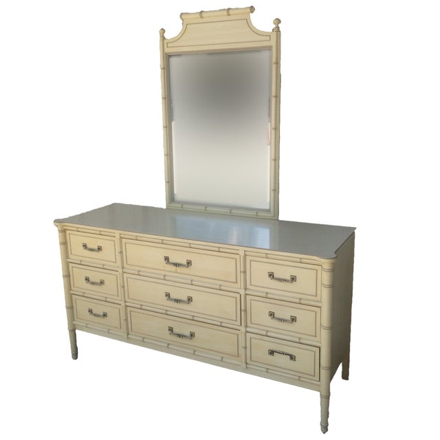 Henry Link Bali Hai Collection Dresser With Mirror - Image 2 of 10