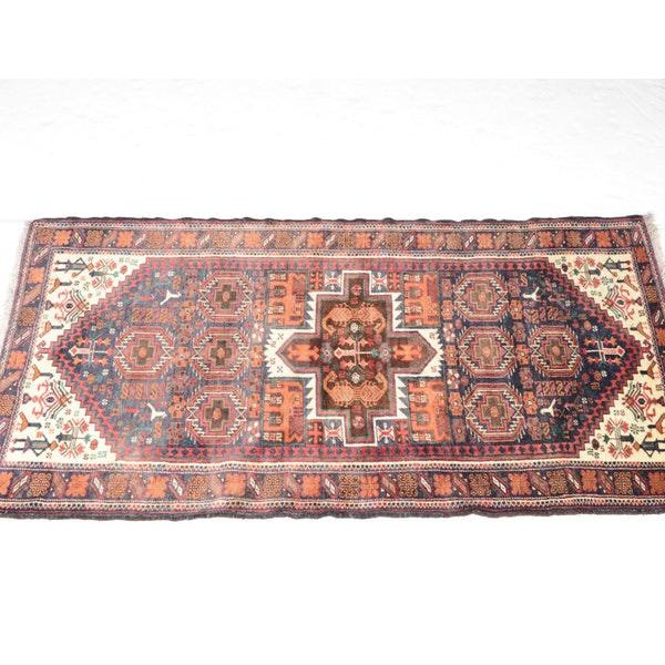 Hand Knotted Persian Baluch Rug - 3′3″ × 6′10″ - Image 3 of 9