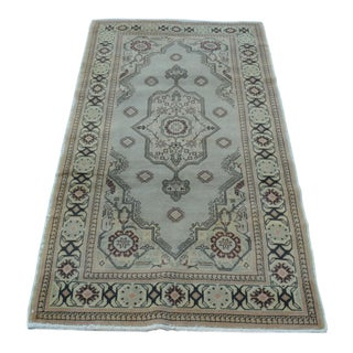 Antique Tribal Oushak Rug - 3′2″ × 5′11″