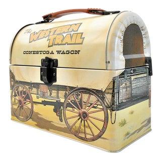 Western Wagon Cowboy Lunchbox