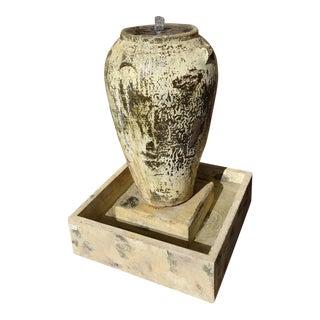 Handmade Cask Urn Fountain