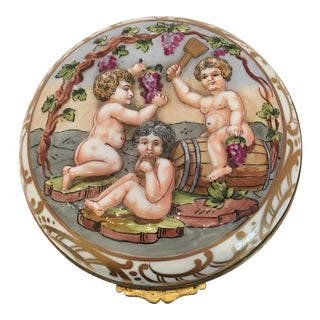French Wine Grape Capodimonte Box