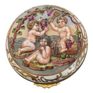 French Wine Grape Capodimonte Box