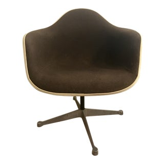 Vintage Eames Chocolate Lounge Chair