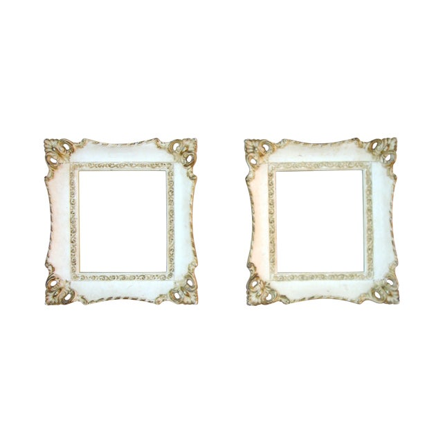 Vintage French Rococo Gilt Picture Frames - 2 - Image 1 of 7
