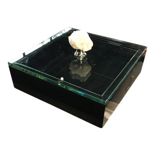Glass Top Box With Agate Stone