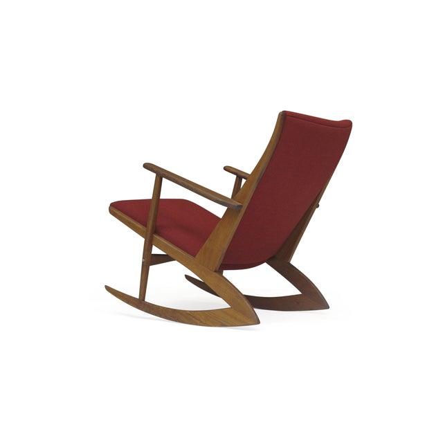 Georg Jensen Mid-Century Danish Rocking Chair - Image 4 of 9