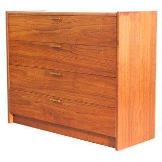 Mid Century Modern Walnut Chest of Drawers by Ramseur