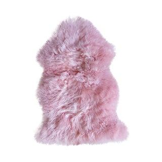 Pink New Zealand Sheepskin - 2' x 3'