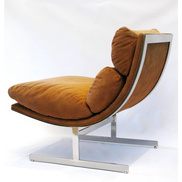 Kipp Stewart for Directional Lounge Chairs - Pair - Image 2 of 7