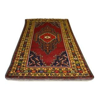 Anatolian Vintage Yahyali Rug - 3′10″ × 7′10″