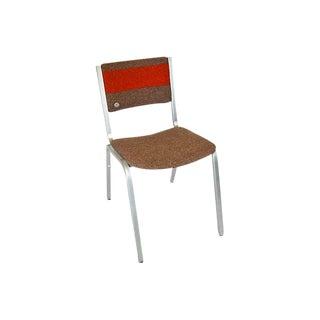 Swedish Industrial Aluminum Chair