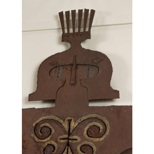 Metal Gladiator Wall Sculpture - Image 3 of 6